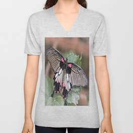 Great Mormon Butterfly Unisex V-Neck