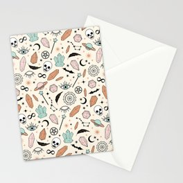 Magic Pattern Stationery Cards