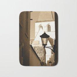 A shortcut to church Bath Mat