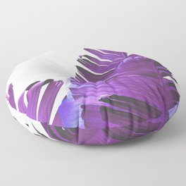 Banana Leaves (Purple) Floor Pillow
