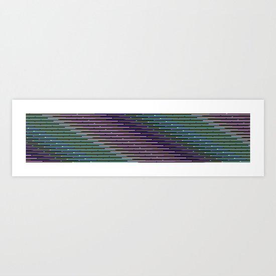 Static XXXIX Art Print