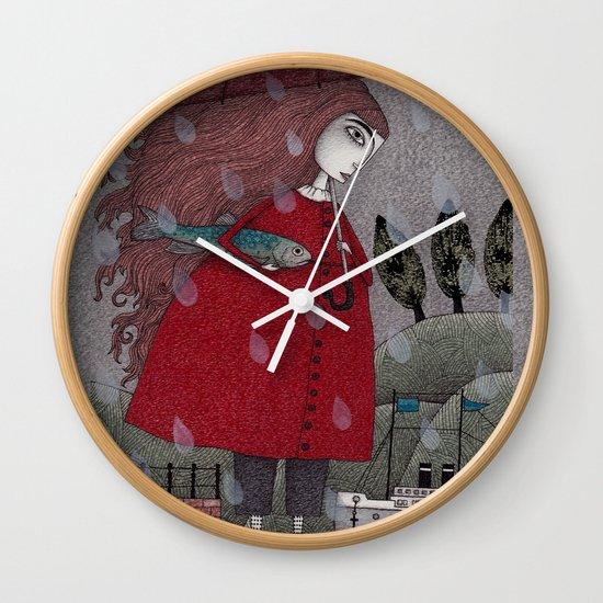 At the Harbor Wall Clock