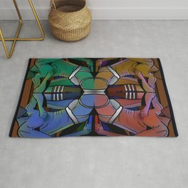 Pop Your Jock Art Rug