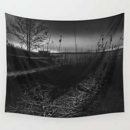 On the wrong side of the lake 11 Wall Tapestry