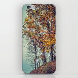 Above the Clouds in Appalachia in Autumn -- Landscape iPhone Skin