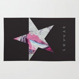 David Bowie Print. Blackstar Ziggy Stardust Print Rug