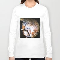 emma watson Long Sleeve T-shirts featuring Watson by Probably Plaid