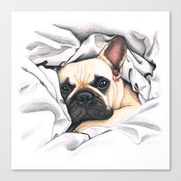 French Bulldog - F.I.P. - Miuda Frenchie Canvas Print