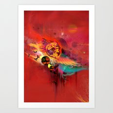 Uncaged Art Print