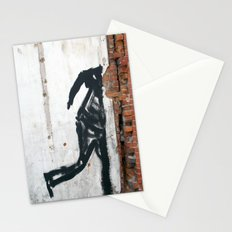 People Disappear, Right Before Our Eyes, Like Old Bricks In a Wall Stationery Cards