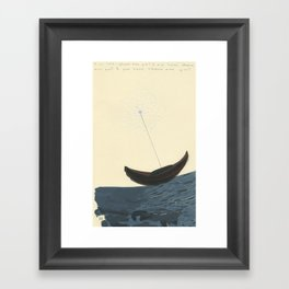 Magnetic North Framed Art Print