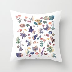 Nature all over Throw Pillow