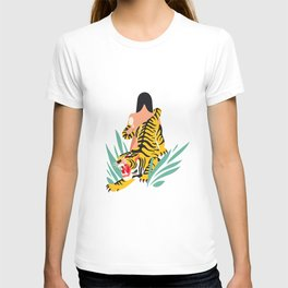Waking the tiger T-shirt