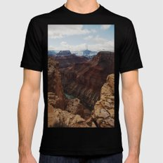 Marble Canyon Mens Fitted Tee Black LARGE