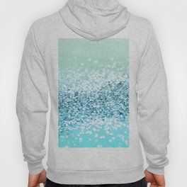 Seafoam Aqua Ocean MERMAID Girls Glitter #2 #shiny #decor #art #society6 Hoody