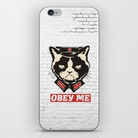 obey iPhone & iPod Skins featuring OBEY by frail