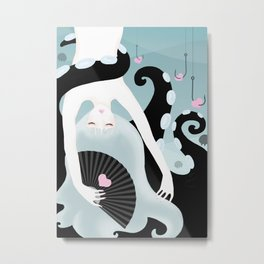 Your l♥ve under the sea Metal Print