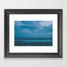 To The Lonely Sea and The Sky Framed Art Print