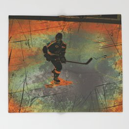 The Game Changer - Ice Hockey Tournament Throw Blanket