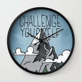 Challenge Yourself Wall Clock