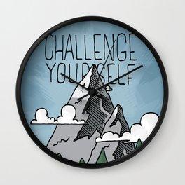 Challenge Yourself Wall Clock