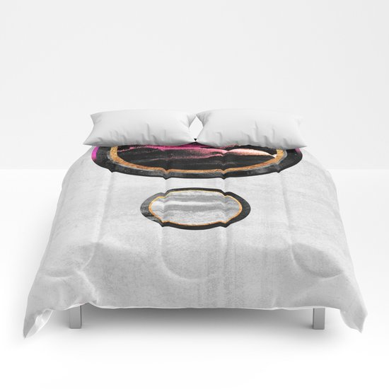 Circle Abstract #1 Comforters
