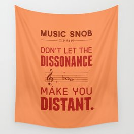 Spooky Scary Dissonance! — Music Snob Tip #439.5 Wall Tapestry