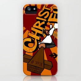 Christ Fu - Love Thy Unconscious Enemy iPhone Case