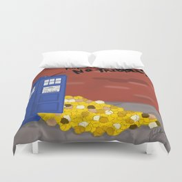 Tribble-y Wobbly Time-y Wimey Duvet Cover