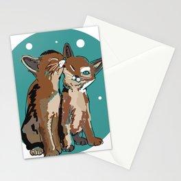 Kitty Kat Stationery Cards