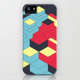 Two Sides A + B iPhone Case
