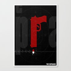 The Sopranos Poster Canvas Print
