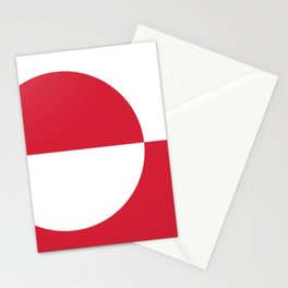 Flag of Greenland Stationery Cards