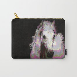 White Arabian Carry-All Pouch