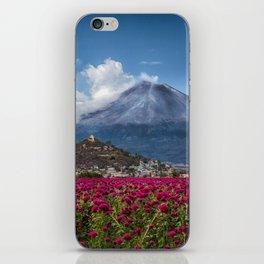 Popocatepetl Volcano Puebla Mexico iPhone Skin