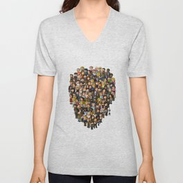 Super Walking Dead: Farm Unisex V-Neck