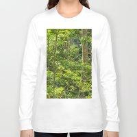 jungle Long Sleeve T-shirts featuring Jungle by Mauricio Santana