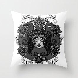 fauna #3 Throw Pillow