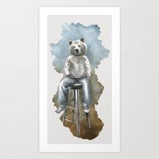 Dear bear Art Print