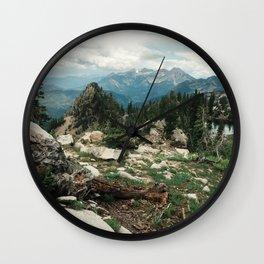 Utah Alpine Wall Clock