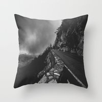 watch Throw Pillows featuring watch by heretosaveyouall