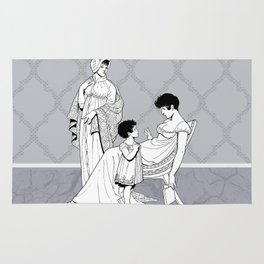 Woman and Child Rug