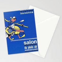 cartaz salon international du plein air Stationery Cards