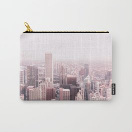 CHICAGO CITY PASTEL PINK Carry-All Pouch