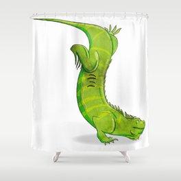 Iguana Shower Curtain