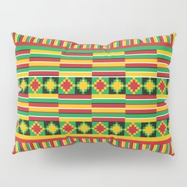 Kente pattern Pillow Sham