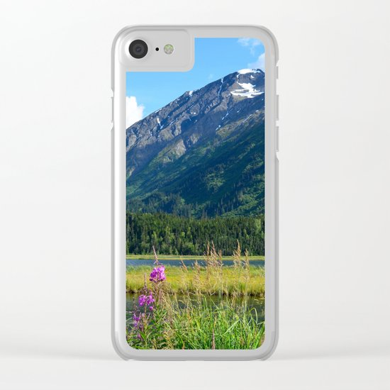 July at Tern Lake - II Clear iPhone Case