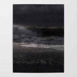Moody day at Long Beach Island Poster