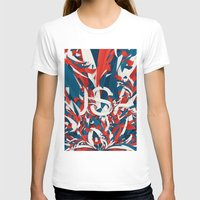 usa T-shirts featuring USA by Danny Ivan