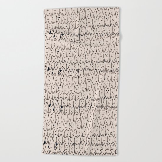 cat-301 Beach Towel
